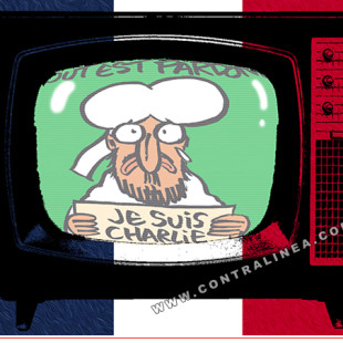 """Más ataques a la libertad de expresión, ahora en nombre de """"Charlie Hebdo"""""""