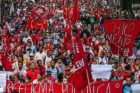 Movimientos sociales salen a las calles de todo el Brasil en defensa de la democracía