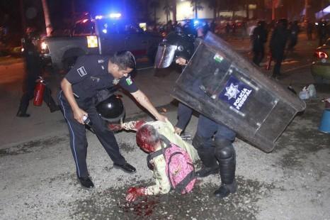 Saldo de la represión federal en Acapulco