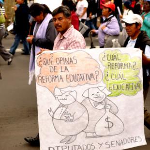 """Ante la evaluación punitiva y la amenaza al empleo; Sigamos en Resistencia contra la """"Reforma educativa"""""""