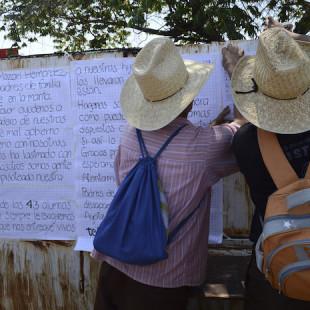 """Los habitantes de Iguala no olvidan la pérdida: """"¿Cómo votar si faltan 43?"""", dicen"""