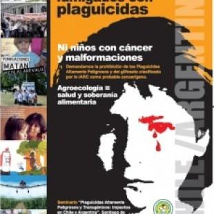 Plaguicidas y transgénicos asociados a cáncer y malformaciones en Argentina y Chile
