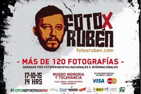 De fotografo a fotografo, subasta  #FotoXRuben en el Museo de Memoria y Tolerancia