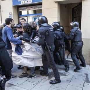 Operación policial contra el movimiento libertario catalán; nueve detenidos