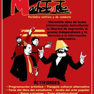 XVII ANIVERSARIO DEL PERIÓDICO MACHETEARTE