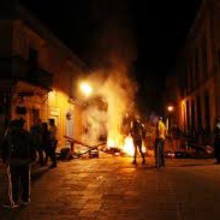Oaxaca arde de nuevo, se levantan barricadas