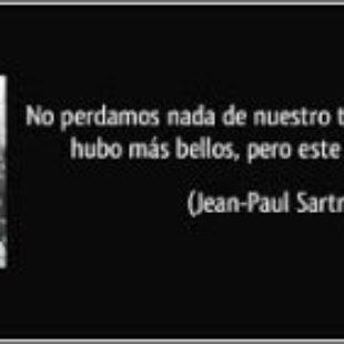 ¿Sartre anarquista?