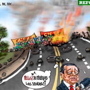 El desabasto en Oaxaca, gran mentira