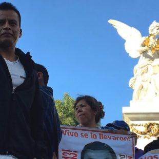 ¿Qué hicieron nuestros hijos para merecer la indiferencia de este gobierno? Ayotzinapa 25 meses