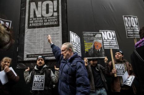 Organizaciones, intelectuales, periodistas y ciudadanos repudian a Trump y llaman a la resistencia y organización