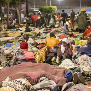 Haitianos buscan quedarse en Tijuana para no ser deportados en Estados Unidos