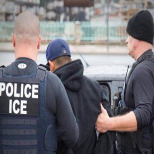 Inician redadas contra migrantes en Estados Unidos; hay cientos de detenidos