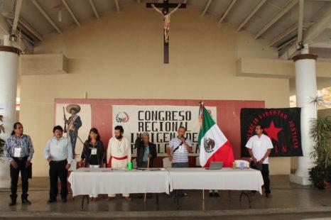 """Ante """"injusticias y despojos"""", el CNI se manifiesta por """"la reconstrucción de un nuevo México con los de abajo"""
