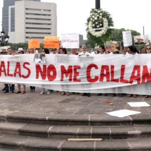 """""""Las balas no nos callan. El asesinato de Javier es la gota que derrama el vaso"""": periodistas de Nuevo León"""