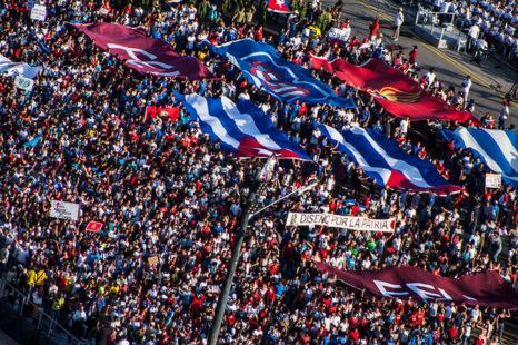 """Nuestra fortaleza es la unidad"""": Cuba marcha en el Día Internacional de los Trabajadores"""
