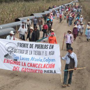 Pueblos nahuas ganan amparo contra gasoducto Morelos