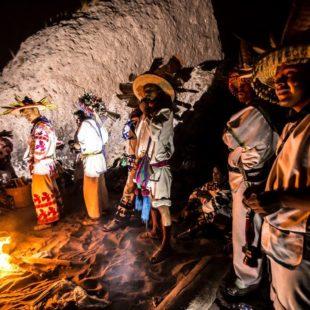 Pueblos wixárika y nayeri en contra de la afectación a sus sitios ceremoniales en Río San Pedro