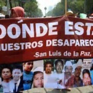 Más de 33.000 personas desaparecidas en la última década
