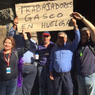 Chile. Trabajadores del Gas hacen efectiva huelga histórica