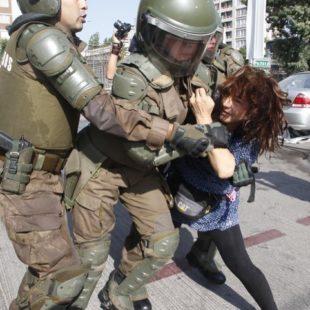 Chile / Visita del Papa. Represión policial y detenidos en Marcha de los Pobres en Santiago