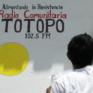 Reconstrucción de la Radio Comunitaria Totopo