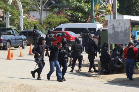 La fuerza letal del estado contra el CECOP